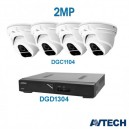 Avtech 4-Channel - 2.0MP