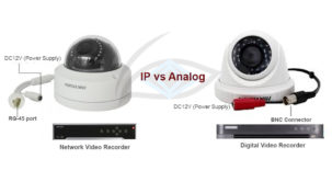 IP Camera vs Analog Camera