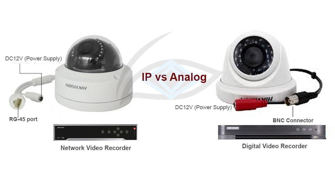 Analog Cameras Vs IP Cameras