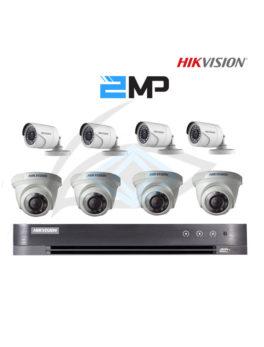 Package DS-7208HQHI-K1 8kamera