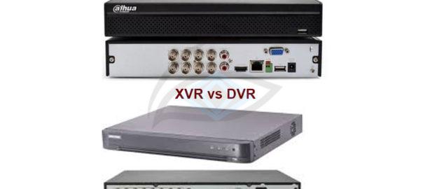 DVR Vs XVR