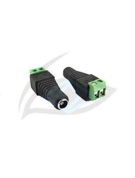 Female plug CCTV