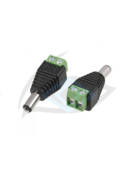 male plug cctv