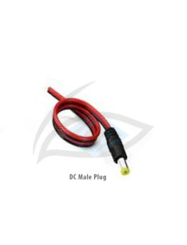 DC male plug