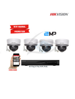 Hikvision IP Cameras Package
