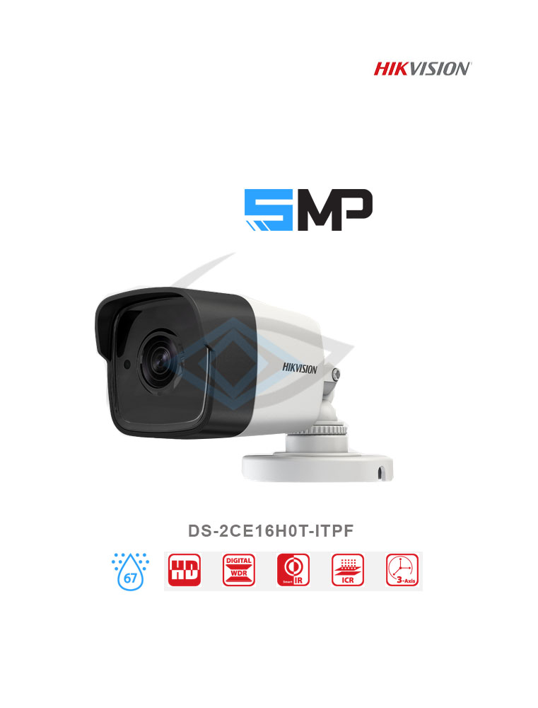 Pro Series – 4Channel Cameras 5MP Packages