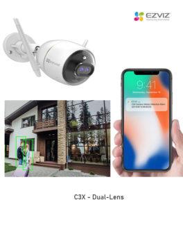 C3X - Outdoor Dual - Lens