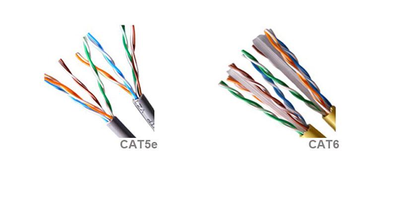 Cat5e vs Cat6