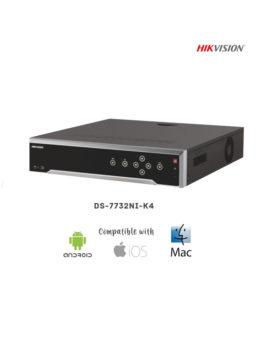 DS-7732NI-K4 - 32CH 4K NVR